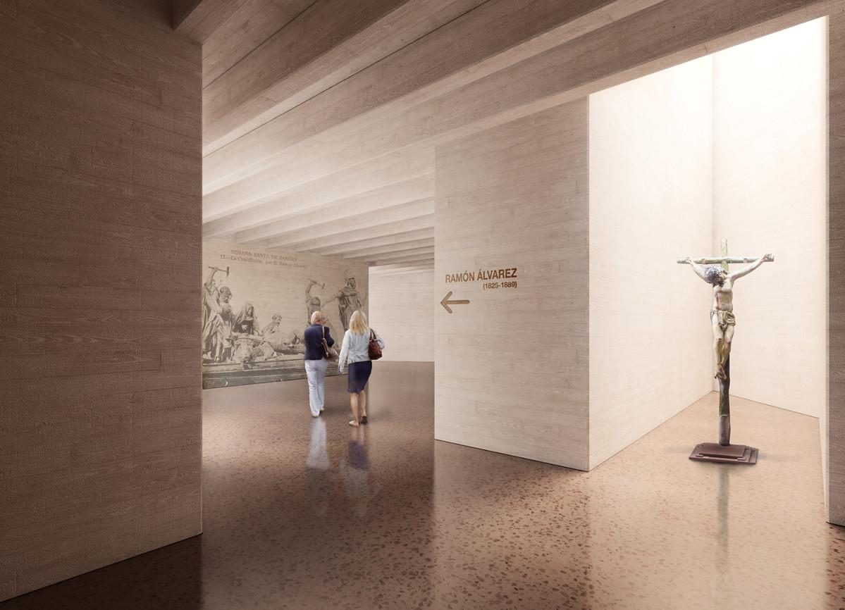 Museo Semana Santa Zamora Matos Castillo arquitectos + Montenegro + Gelabert 01